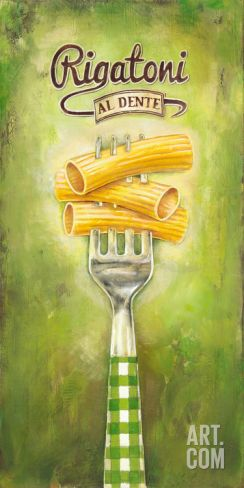 Rigatoni Art Print by Elisa Raimondi at Art.com