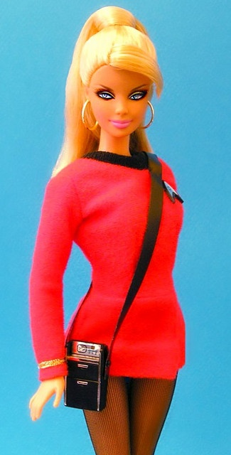 "Start Trek Barbie ""Yeoman Rand 2"" by prettybrbphoto, via Flickr"