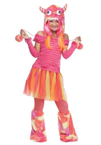 Teen Wild Child Monster Halloween Costume