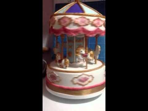 Rotating Cake Topper Base