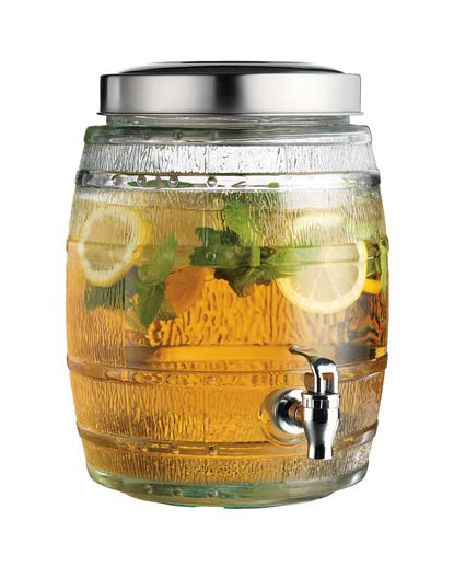 2 Gallon Brew Barrel Jug - Clear countryoutdittter
