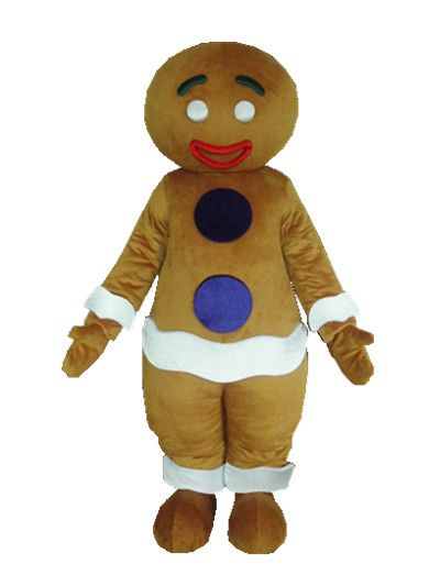 ==> [Free Shipping] Buy Best Gingerbread/Gingernut/Gingersnap man mascot costume for Adult Theme anime cosplay costumes&Carnival/Christmas fancy dress Online with LOWEST Price | 32760913518