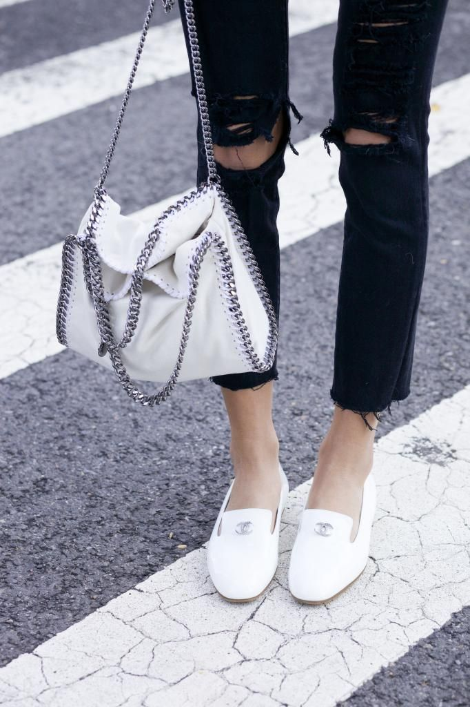 Minimal + Chic = Slippers Chanel                                                                                                                                                                                 More