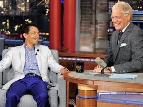 California Chrome Jockey Victor Espinoza on The Late Show with David Letterman