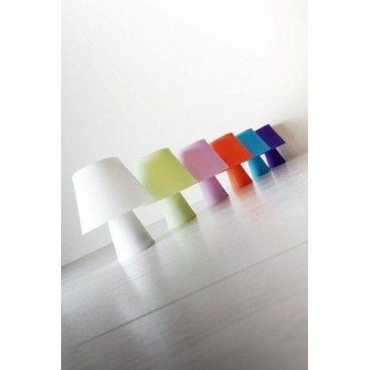 Lampka stołowa Numen zielona fluoroscencyjna