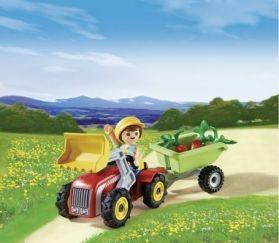 Playmobil Αγοράκι Με Τρακτέρ (4943)- 7.99