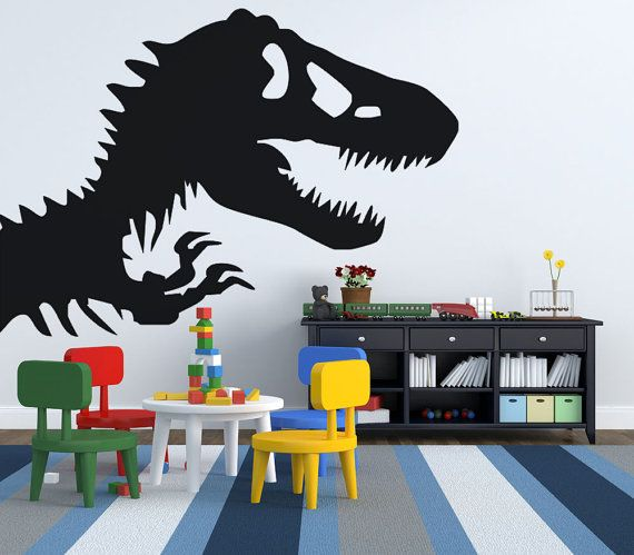 Hey, I found this really awesome Etsy listing at https://www.etsy.com/listing/452505550/bbay-boy-nursery-dinosaur-wall-decal