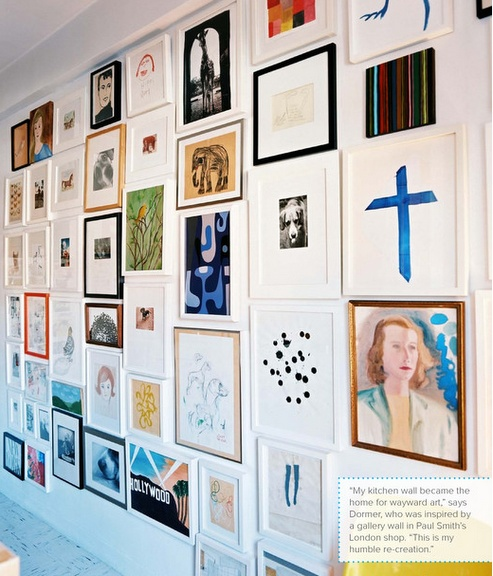 Great Art and Photo Wall