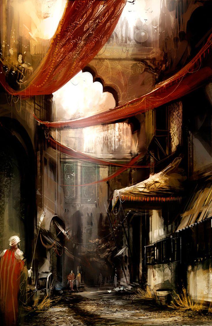 High dawnknight tlinthar regheriad lathander paladin iluskan order - 11 Examples Of Fantastic Character Art From Richard Anderson