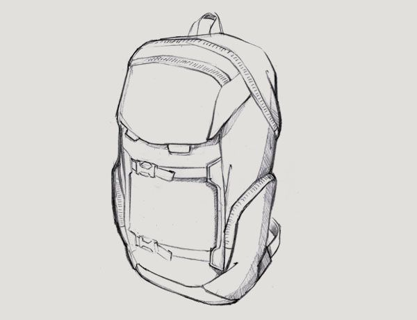 kenneth cole reaction shoes leather square backpack sketching