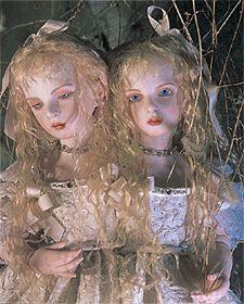 Doll / 双子のパラドックス (1999) Damiel head sculpt.  Doll artist / Koitsukihime. Photograph / Sakichi Kataoka.