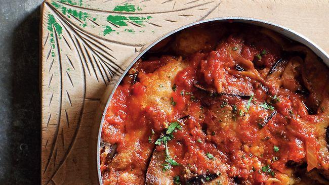 Parmigiana Di Melanzane Recipe by Chef Guy Grossi.