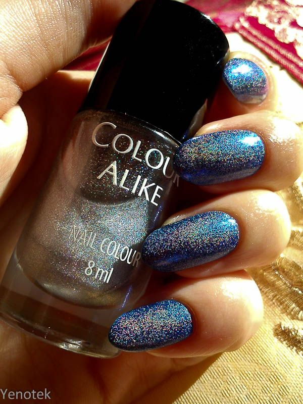 the great holo top coat by Colour Alike :)