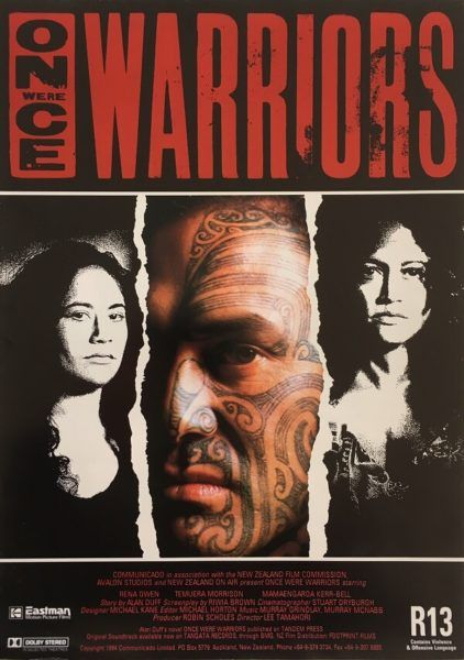 Once Were Warriors original 1994 New Zealand Info Sheet. Available for purchase from our website.