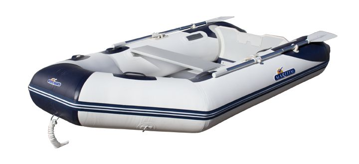 Maritim Gummibåt 280cm Hvit/Blå - Maritim Båtutstyr