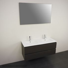Leava Caspe/Valleta badkamermeubel met spiegelkast CAS10A020670