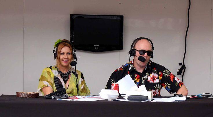 Sunshine Coast food blogger and recipe creator/stylist and presenter Bek Mugridge on Hot 91 fm at 2014 Sunshine Coast Show #sunshinecoast #sunshinecoastfood #bekmugridge #nambour