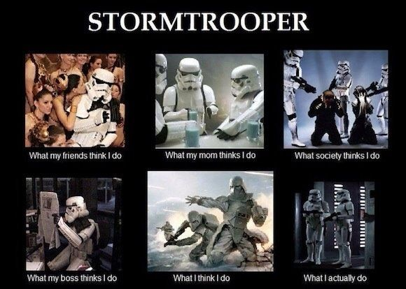 Silly troopers