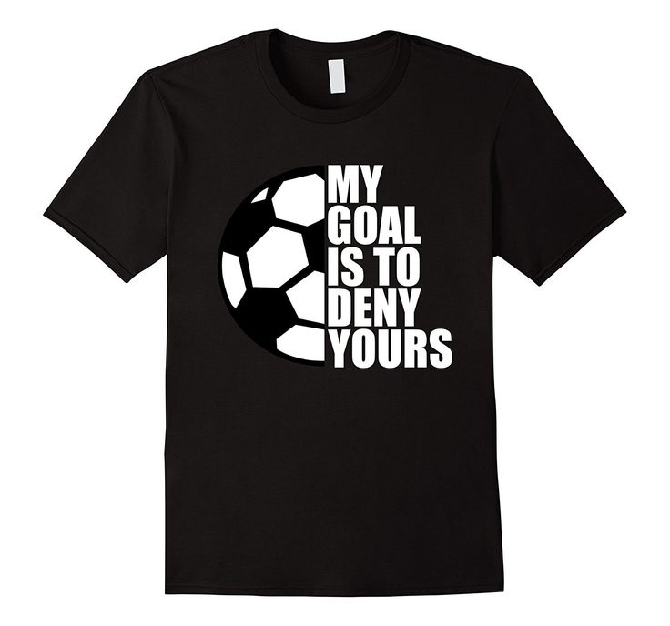 - 100% Cotton - Imported - Machine wash cold with like colors, dry low heat - This Soccer Goalie T Shirt Is Available For Boys Girls Kids Youth Men and Women - Makes A Great Gift For A Birthday Or Cel