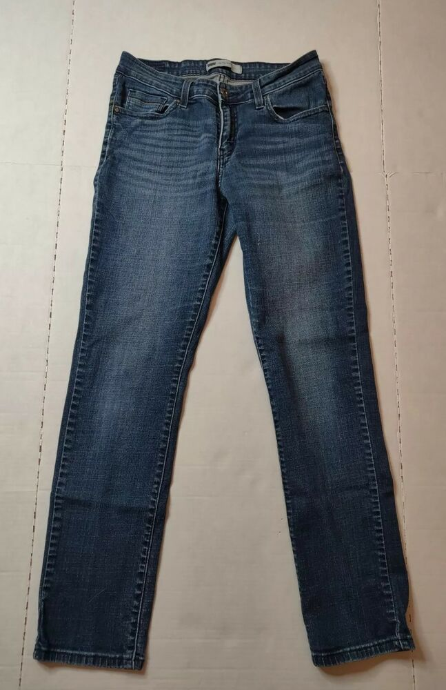 Clothing, Shoes & Accessories Womens Levis Mid Rise Skinny Size 8 Jeans