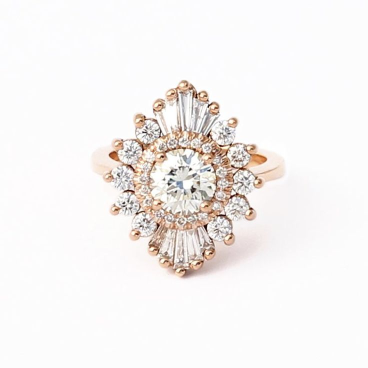Heidi Gibson Cambria ring (but Turned the east west direction) I would want it to NOT be too high off my finger because it would snag