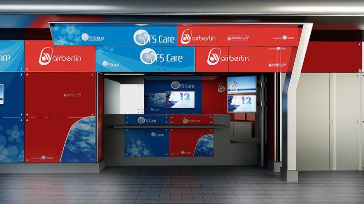 FS Care / Airberlin - Balcão de Aeroporto Porto