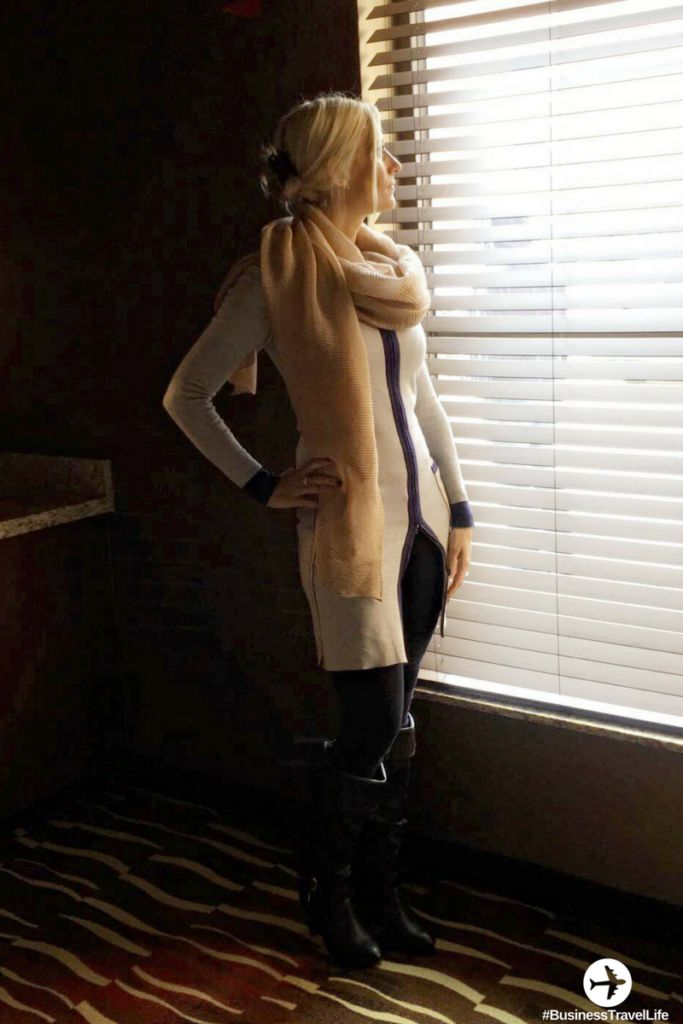 Outfits for work travel: This cardigan dress can be worn 4 different ways!! bus…
