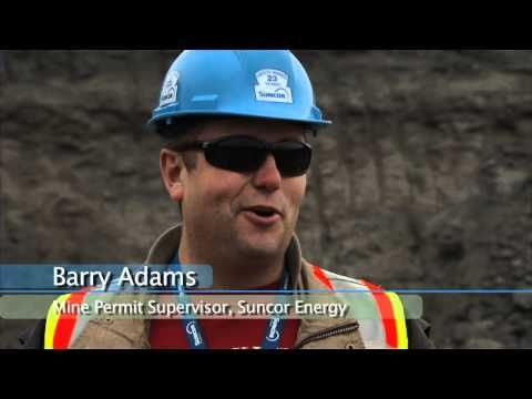▶ Discovery of Ankylosaur at Suncor Energy's Millennium Mine - YouTube