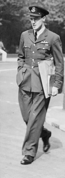 British author, fighter pilot and screenwriterRoald Dahl (Charlie and the Chocolate Factory, Matilda, BFG, James and the Giant Peach and many more) was in the RAF.