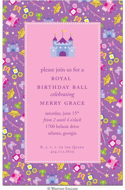 Best Ellas St Birthday Images On Pinterest Rd Birthday - 5th birthday girl invitation wording