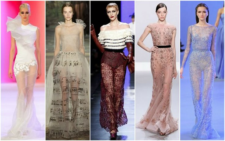 Sheer - Beautifully Fierce!: Paris Haute Couture: Spring 2014.