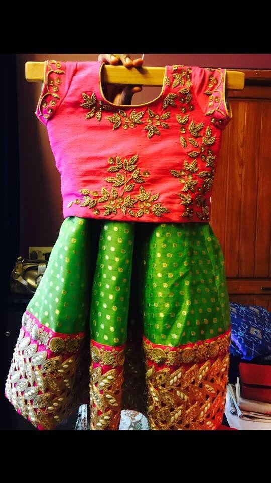 Kids designer dress