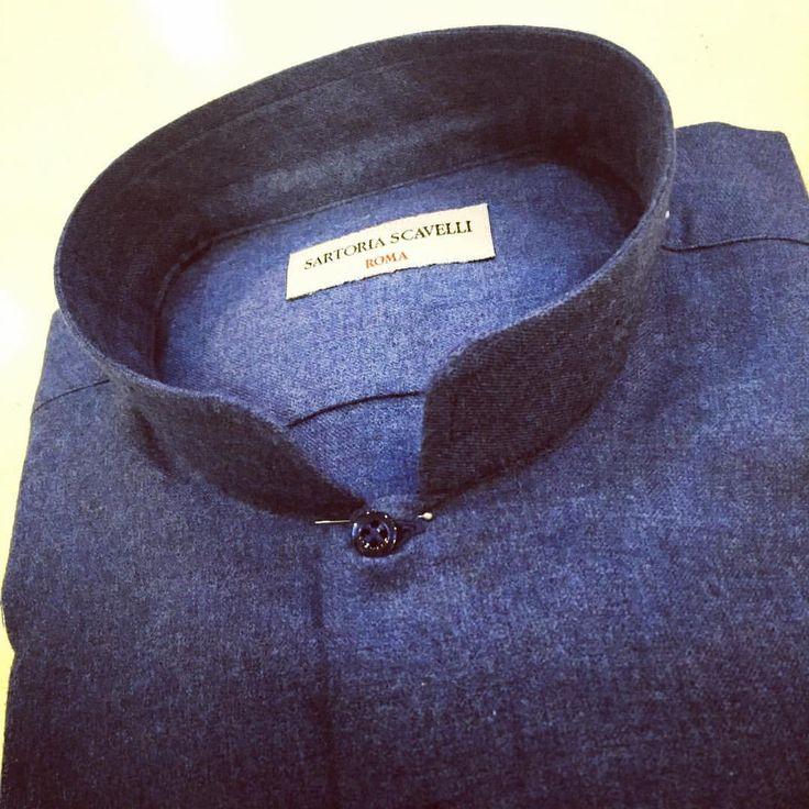 #bespoke #shirt #fashion #fashionblogger #luxury #luxurylife #gentleman #handmade #moda #madeinitaly #menstyle #menswear #laboutique #labottega #style #sartoriascavelli #tailored #tailoring #dapperstyle #dandy #roma #romacentro (presso Sartoria...