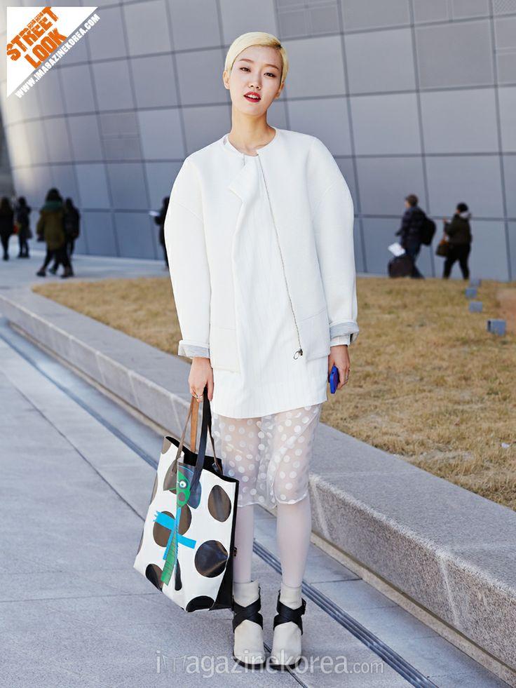 이주영 ( 25세 | 모델 | 동대문 DDP ) 재킷 system | 신발 McQ | 가방 MARNI