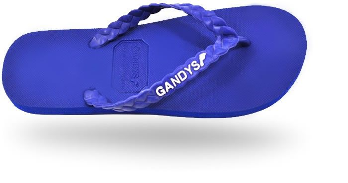 Gandys Originals Flip Flops - Barbados Blue