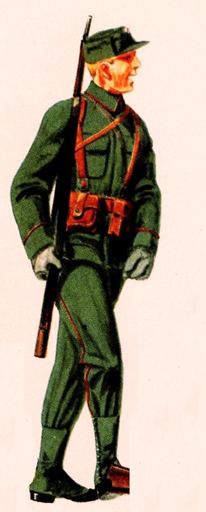 Norvegian Army WW2 - private infantry, pin by Paolo Marzioli