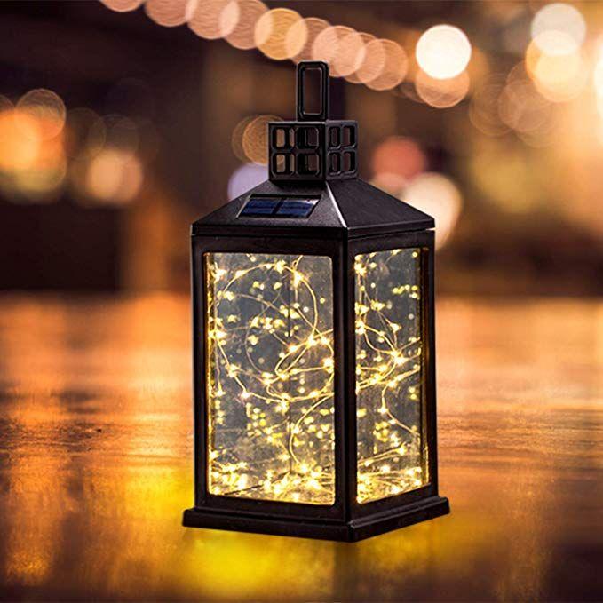 Solar Lantern Lights Outdoor Sunwind Waterproof Solar Table Lamp