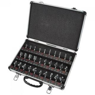 """*CLICK TO ENLARGE* Trend 30-Piece 1/4"""" TCT Router Cutter Starter Set"""