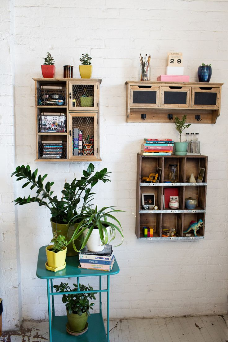 Storage ideasLittle Boxes, Urban Outfitters, Wall Storage, Wood Storage, Small Storage, Wall Shelves, Wood Shelves, Storage United, Storage Ideas