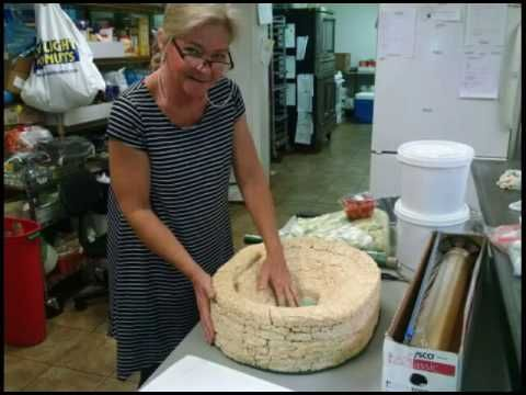 The Making of Neyland Stadium Cake in Lights / Grooms Cake