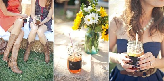 7 Tips for Mason Jar Drinking Glasses (photo via Marcella Treybig blog)