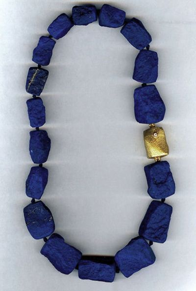 Other than diamonds and pearls, is there anything more beautiful than lapis?