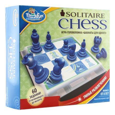 Thinkfun Игра-головоломка Шахматы для одного  — 1670 руб.  —   Thinkfun Игра-головоломка Шахматы для одного - увлекательная настольная игра-головоломка, играя в которую Вы поймёте принципы передвижения шахматных фигур по шахматной доске, научитесь составлять многоходовые комбинации. Различные уровни сложности делают головоломку интересной как детям так и взрослым.  Карточки с заданиями удобно хранить в специальном отсеке, расположенном под игровым полем. Шахматные фигуры хранятся в…