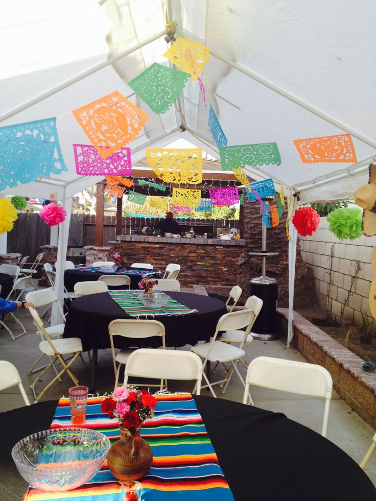 Mexican party decorations - Mexican themed party decoration ideas ...
