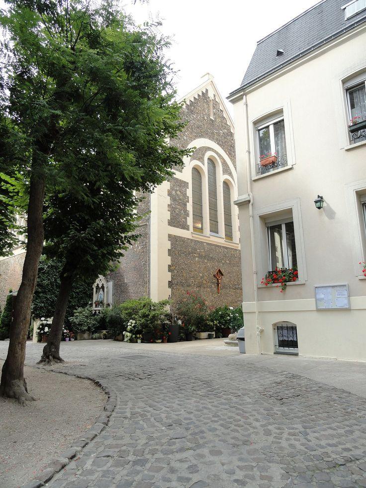Paroisse Sainte Geneviève, Eglise orthodoxe roumaine 75016 Paris