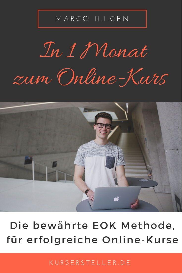 EOK-Methode: In 1 Monat erfolgreichen Online-Kurs erstellen – Gruppenboard Online Marketing & Online Business