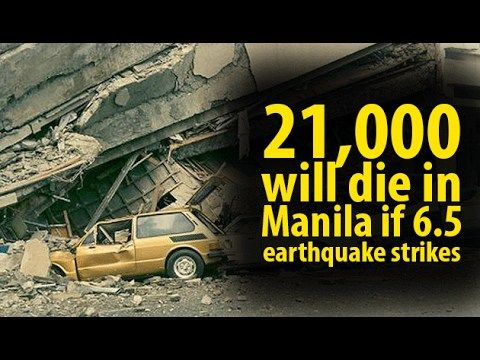 21,000 will die in Manila if 6.5 earthquake strikes ~Share - WATCH VIDEO HERE -> http://dutertenewstoday.com/21000-will-die-in-manila-if-6-5-earthquake-strikes-share/   21,000 will die in Manila if 6.5 earthquake strikes News video courtesy of The Storyteller YouTube channel  Disclaimer: The views and opinions expressed in this video are those of the YouTube Channel owners and do not necessarily reflect the opinion or position of the site owners/FB admins.
