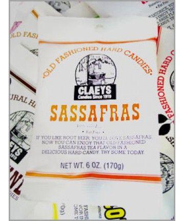 Claeys Candy 6 oz Bag Sassafras Drops