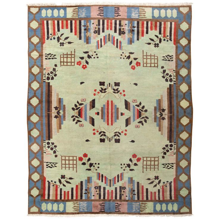 1stdibs - Art Deco Indian Rug explore items from 1,700  global dealers at 1stdibs.com