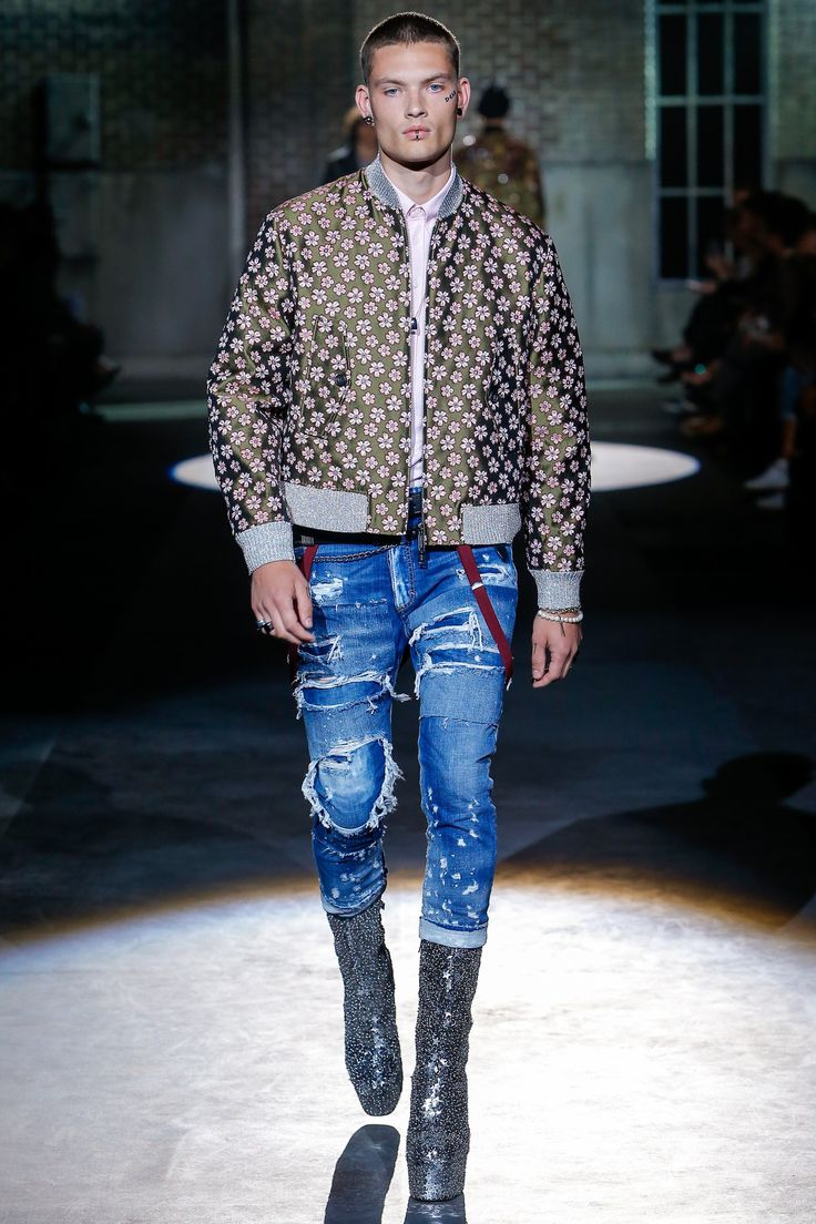 Dsquared2 Spring 2017 Menswear Fashion Show
